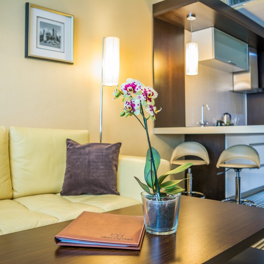 малки хотелски апартаменти в Оливс