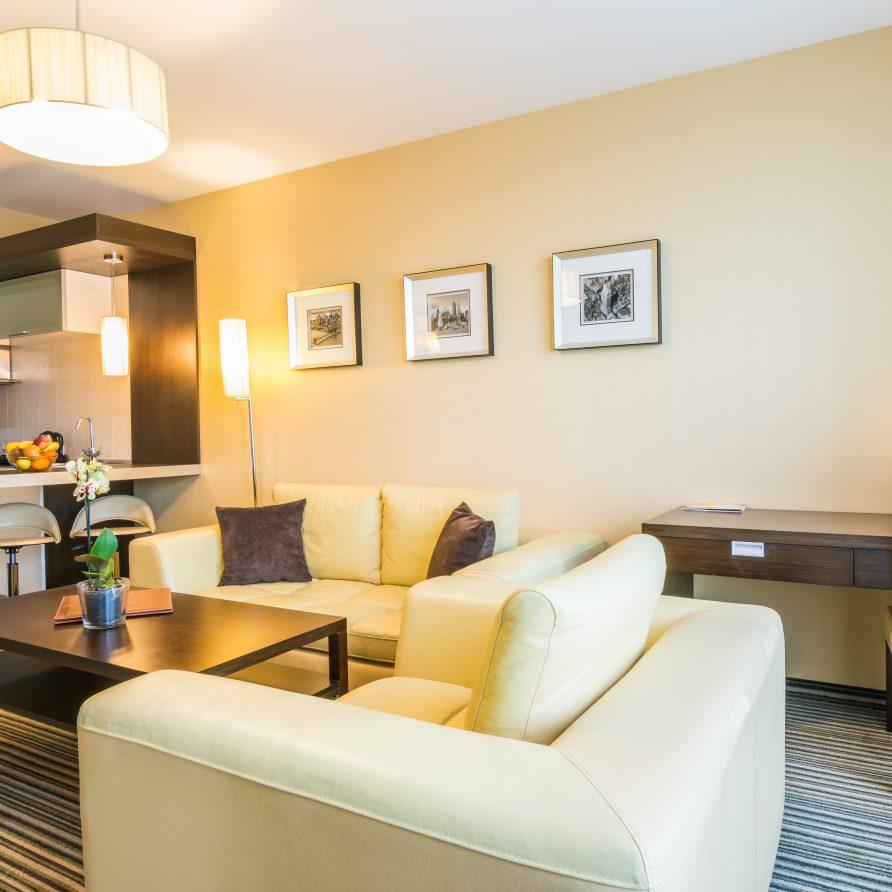 интериор в малки хотелски апартаменти