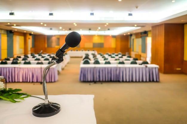 Конферентни зали: Подредба и характеристики