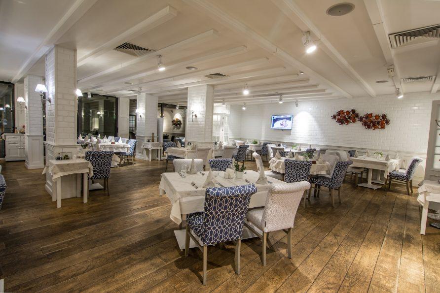 Ресторантът на четиризвезден хотел в София